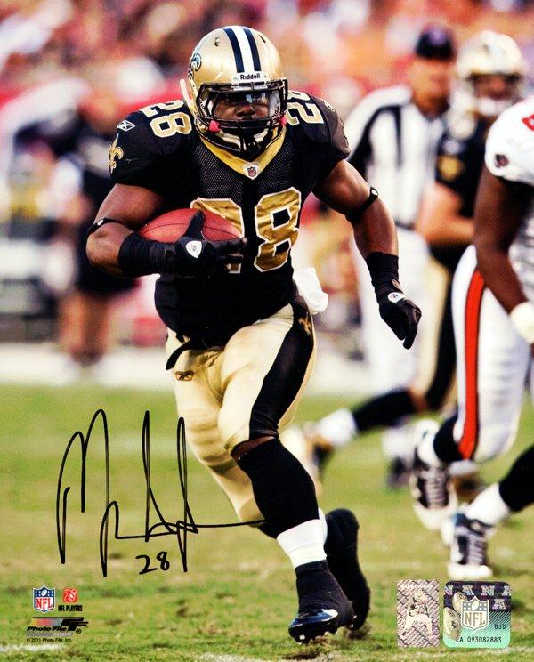 Mark Ingram Autographed Signed New Orleans Saints 8x10 Photo INGRAM HOLO