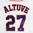 Jose Altuve Signed Autographed Houston Astros Jersey MLB