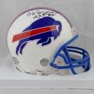 O. J. Simpson Autographed Signed Buffalo Bills Mini Helmet JSA