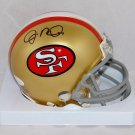 Joe Montana Autographed Signed San Francisco 49ers Mini Helmet JSA COA