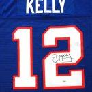 Jim Kelly Autographed Signed Buffalo Bills M&N Jersey PSA/DNA