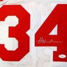 Hakeem Olajuwon Signed Autographed Houston Rockets Jersey JSA COA