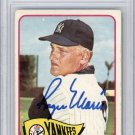Roger Maris New York Yankees Signed Autographed 1965 Topps Card BECKETT
