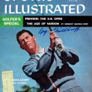 Cary Middlecoff Signed Autographed Vintage 1957 Golf Magazine BECKETT