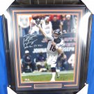 Peyton Manning Denver Broncos Autographed Signed Framed 16x20 Photo FANATICS COA