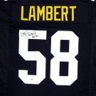Jack Lambert Autographed Signed Steelers Jersey JSA