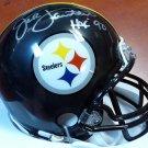 Jack Lambert Autographed Signed Steelers Mini Helmet PSA/DNA