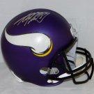 Adrian Peterson Autographed Signed Minnesota Vikings Full Size Helmet JSA