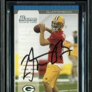 Aaron Rodgers Green Bay Packers Autographed Signed 2005 Bowman Rookie Card BECKETT