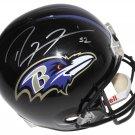 Ray Lewis Autographed Signed Ravens FS Helmet PSA/DNA