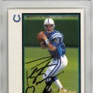Peyton Manning Colts Autographed Signed 1998 Bowman Rookie Card PSA/DNA