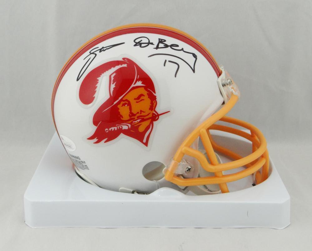 Steve DeBerg Signed Autographed Tampa Bay Buccaneers Mini Helmet JSA