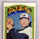 Mike Marshall Montreal Expos Autographed Signed 1972 Topps Card BECKETT