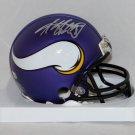 Adrian Peterson Autographed Signed Minnesota Vikings Mini Helmet FANATICS COA
