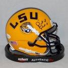 Patrick Peterson Cardinals Autographed Signed LSU Tigers Schutt Mini Helmet JSA
