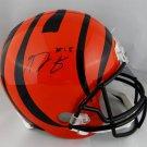 A. J. Green Autographed Signed Cincinnati Bengals Full Size Helmet JSA