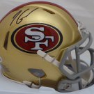 Jimmy Garoppolo Autographed Signed San Francisco 49ers Speed Mini Helmet BECKETT
