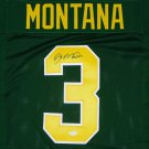 Joe Montana Autographed Signed Notre Dame Fighting Irish Jersey BECKETT