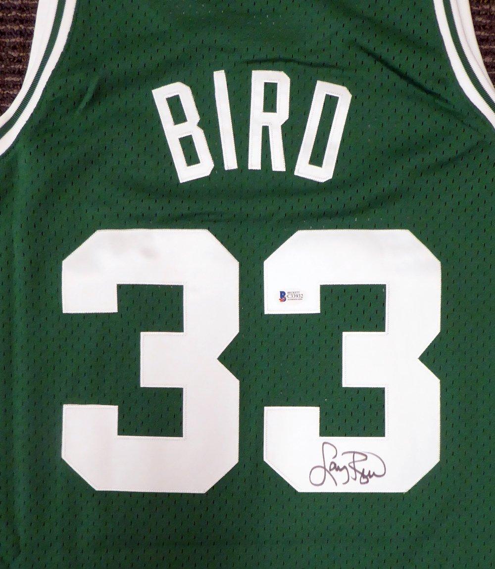 Larry Bird Autographed Signed Boston Celtics Jersey BIRD HOLO