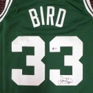 Larry Bird Autographed Signed Boston Celtics Jersey BIRD HOLO
