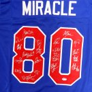 1980 Miracle On Ice Team USA 20 Signatures Autographed Signed Jersey PSA