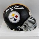 Franco Harris Autographed Signed Pittsburgh Steelers Mini Helmet JSA