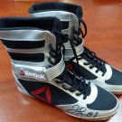 Floyd Mayweather Jr. Signed Autographed Reebok Boxing Shoes BECKETT