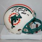 Jason Taylor Autographed Signed Miami Dolphins Mini Helmet JSA