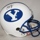 Jim McMahon Signed Autographed BYU Cougars Full Size Helmet JSA