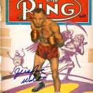 Jersey Joe Walcott Autographed Signed Boxing Magazine Cover PSA
