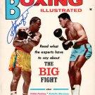 Joe Frazier Autographed Signed Vintage Boxing Magazine Cover PSA