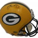 Aaron Rodgers Autographed Signed Green Bay Packers Full Size Proline Helmet FANATICS