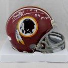 Joe Theismann Autographed Signed Washington Redskins Mini Helmet JSA