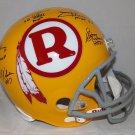 Kilmer Williams Rypien Theismann Jurgensen Signed Autographed Washington Redskins FS Helmet JSA