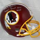 Mark Rypien Signed Autographed Washington Redskins Full Size Helmet JSA