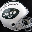 Joe Namath Autographed Signed Full Size New York Jets Helmet BECKETT