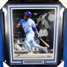 Bo Jackson Kansas City Royals Signed Autographed Framed 16x20 Photo PSA