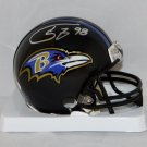 Tony Siragusa Autographed Signed Baltimore Ravens Mini Helmet JSA