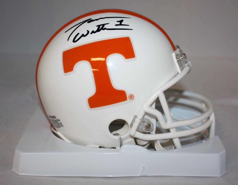Jason Witten Autographed Signed Tennessee Volunteers Mini Helmet JSA