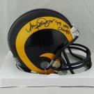 Vince Ferregamo Autographed Signed Los Angeles Rams Mini Helmet JSA