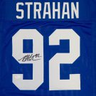 Michael Strahan Autographed Signed New York Giants Jersey JSA