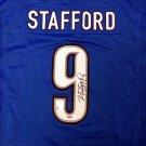 Matthew Stafford Autographed Signed Detroit Lions Nike Jersey PSA