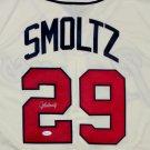 John Smoltz Autographed Signed Atlanta Braves Majestic Jersey JSA COA