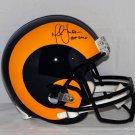 Marshall Faulk Autographed Signed St. Louis Rams Full Size Helmet JSA