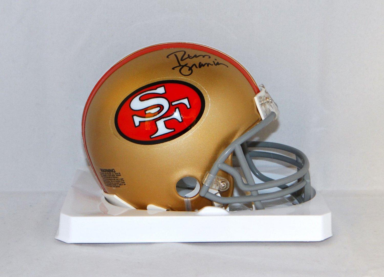 Russ Francis Signed Autographed San Francisco 49ers Mini Helmet JSA