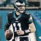 Carson Wentz Signed Autographed Philadelphia Eagles 8x10 Photo JSA