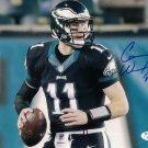 Carson Wentz Signed Autographed Philadelphia Eagles 8x10 Photo JSA