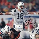 Peyton Manning Indianapolis Colts Autographed Signed 8x10 Photo JSA