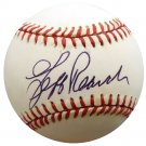 Jeff Reardon Expos Red Sox Signed Autographed Official AL Baseball BECKETT