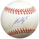 Mo Vaughn Boston Red Sox Signed Autographed Official AL Baseball BECKETT